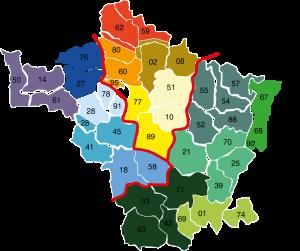 Carte de secteurs